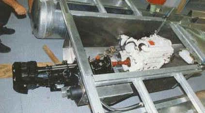 inboard jet drive motors